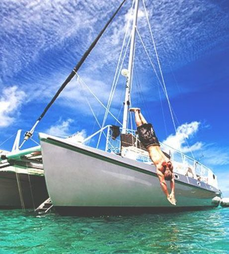 All Aboard Activities - Stag Weekends - Catamaran Cruise