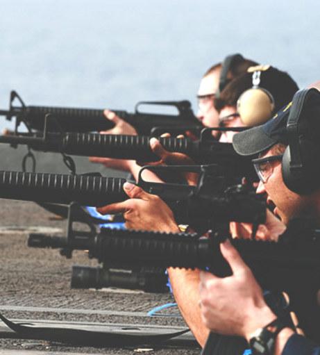 Amsterdam Stag Do Ideas - Rifle Shooting