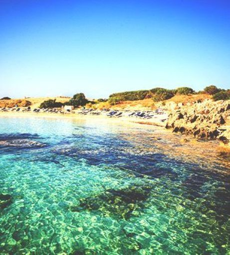 Crystalline waters in a cove. Explore Ayia Napa Stag Party ideas below: