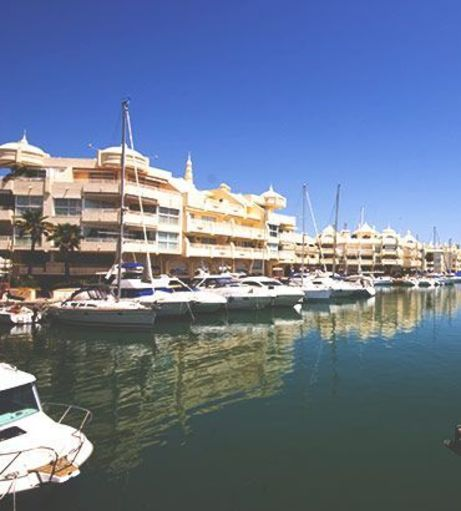 Boats in the Benalmadena Puerto Marina. Discover Benalmadena Stag Party Ideas below: