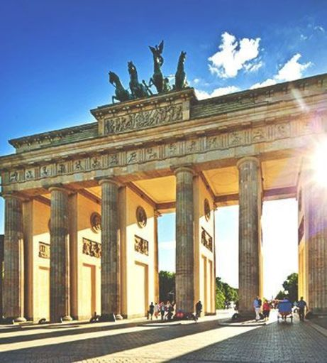 Looking through the Brandenburg Gate. Explore Berlin Stag Party ideas below: