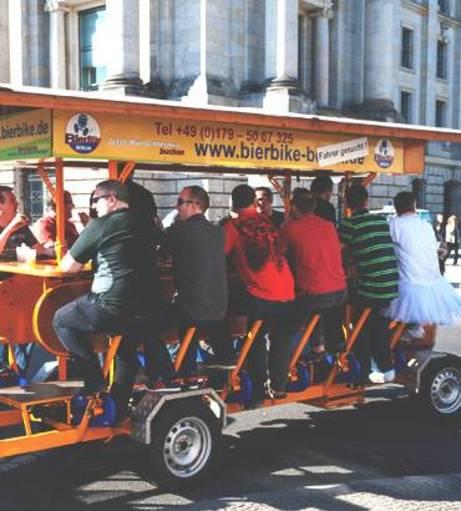 Blackpool Stag Do Ideas - Pedal Pub Tour