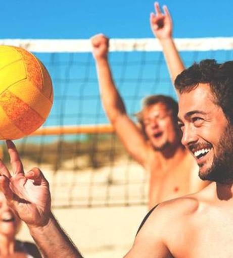 Bournemouth Stag Do Activities - Beach Sports