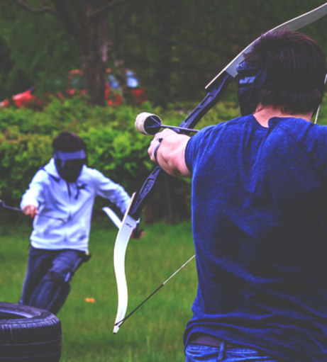 Brighton Stag Do and Stag Party Ideas - Archery Tag