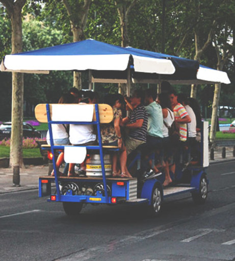 Budapest Stag Do Ideas - Beer Bike