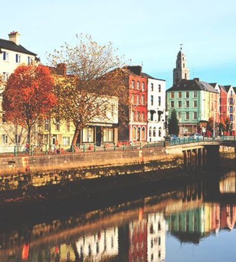 Looking down the River Lee. Discover Cork Stag Party ideas below: