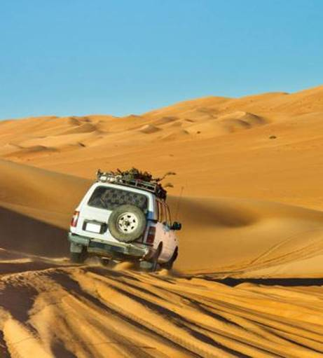Dubai Stag Do Ideas - Platinum Dinner Safari