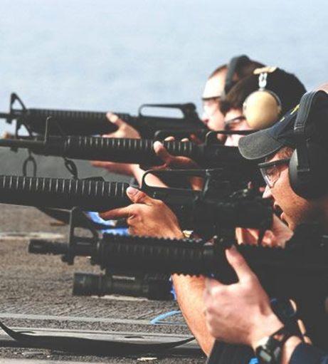 Dublin Stag Do Ideas - Rifle Shooting