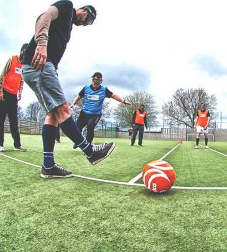 Edinburgh Stag Do Ideas - Beer Goggle Football