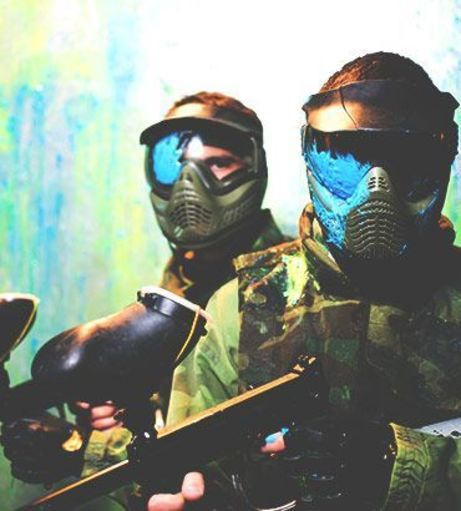 Edinburgh Stag Do Ideas - Indoor Paintballing