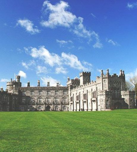 View over the lawn of Kilkenny Castle. Discover Kilkenny Stag Party ideas below: