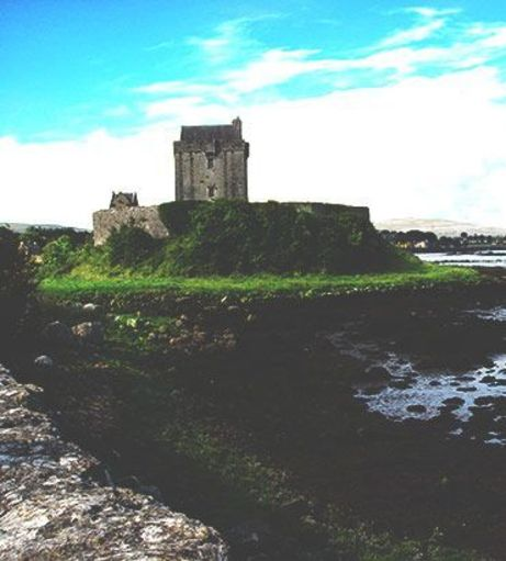 Dunguaire Castle on Galway Bay. Discover Limerick Stag Party ideas below.