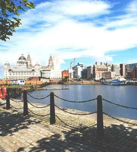 View of the Albert Docks. Discover Liverpool Stag Party ideas below: