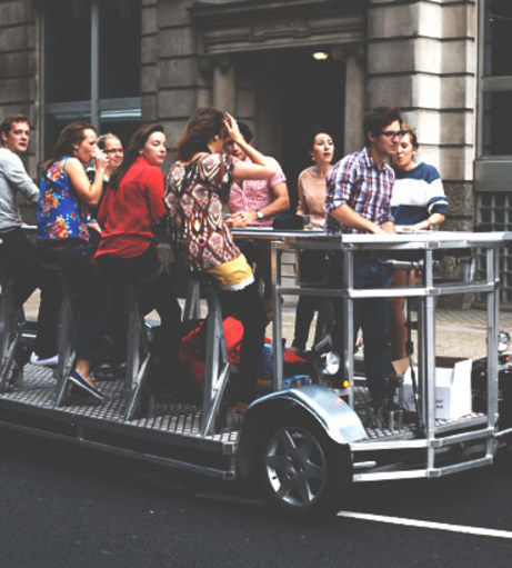 London Stag Party Packages - Beer Bike Tour