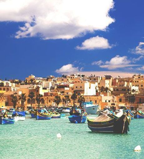 Sunny day over the coast of Malta Old Town. Explore Malta Stag Party ideas below: