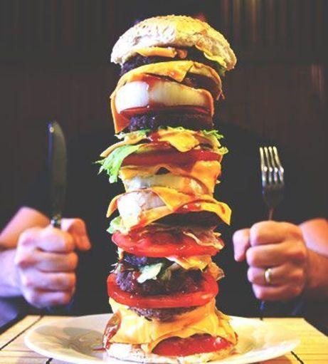 Manchester Stag Do Ideas - Man v Food