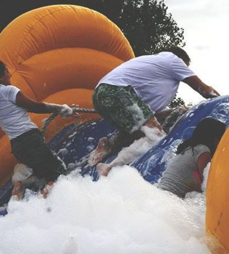 Newcastle Stag Do Packages - Inflatable Madness