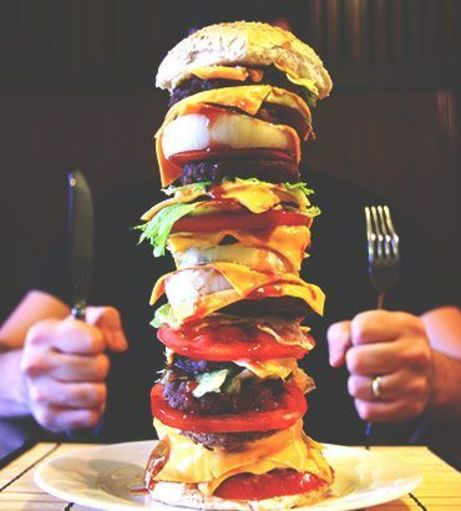 Newcastle Stag Party Ideas - Man v Food