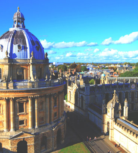Radcliffe Camera. Discover Oxford Stag Party ideas below: