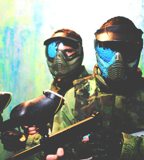 Palma Stag Do Ideas - Indoor Paintballing
