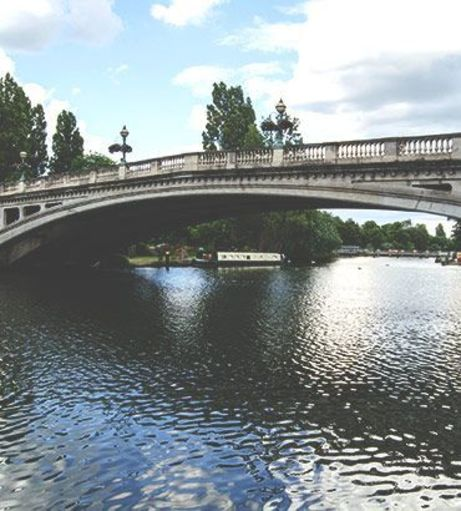 Reading Bridge on a cloudy day. Explore Reading Stag Party ideas below: