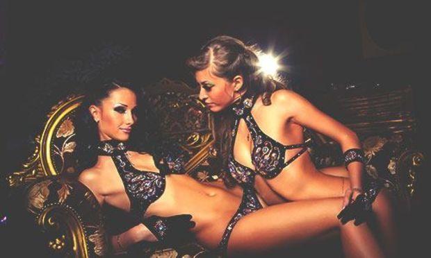 Bachelor party lesbian show photos