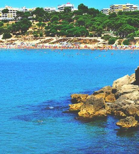 Azure seas off the coast the Salou. Discover Salou Stag Party ideas below: